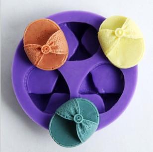 Nicole F0442 shoes DIY mini chocolate mold fondant cupcake silicone mold product specials(China (Mainland))
