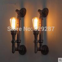 Wall lamp Loft lamp style retro restaurant bar lighting industrial pipe series led lamp