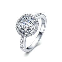 Free Shipping, Quality platinum Gold Set charming Clear Austrian Crystal Wedding Rings for women