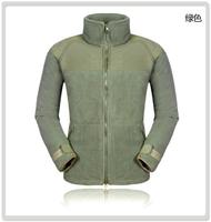 2014 new year Omni-Heat softshell jacket men warm wind polartec ski jacket men Camping Hiking Running winter fleece jacket