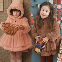 2014 Winter Korean new Mao Maonv children's clothing baby child windbreaker jacket padded coat