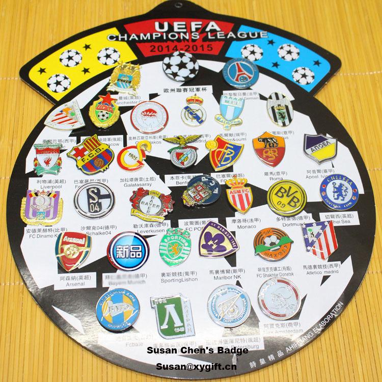 Champions League Emblem Champions League Badges