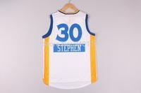 Free Shipping,2014 - 2015 Christmas Edition basketball jersey #30 Stephen Curry Christmas basketball jersey