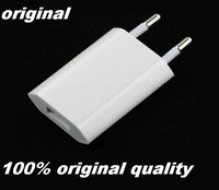 Genuine Original 5V 1A EU Plug USB Wall Charger AC Power Adapter For ipad mini For iphone 6 5S 5C 5 4 4S