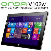 """Onda V102W Windows 8.1 Tablets PC 10.1"""" 1920*1200 IPS Screen Intel Z3735 Quad Core 2GB DDR3L 32GB HDMI Bluetooth"""