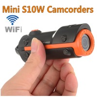 New Wifi Mini Action Helmet Camera S10w DV Full HD 1080P Action Digital Video DV 30M Waterproof Sport Camera Camcorder