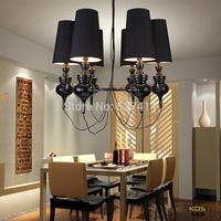 3 lights/ Kadi Sen creative personality of modern minimalist European art galleries penthouse living room chandelier