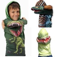Boy Cotton Clothing  Dinosaur Hoodies girls Novelty Shirt  fashion Outwear Spring Autumn children hoodies kids clothing
