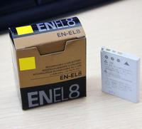 Hot Sale EN-EL8 EN EL8 ENEL8 Camera Battery for Nikon COOLPIX S1 S2 S3 S4 S5 S6 S7 S7C S8 S9 S51 S50 S52 P1 P2 L1 L2 MH-62