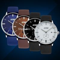Free shipping 2015 fashion casual woman man watch quartz Wristwatches 4 colors--mkgf