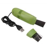 Free Shipping Professional Fashion Mini USB Vacuum Cleaner Keyboard Vacuum Cleaner Green