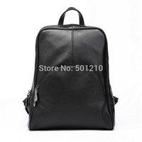 2014 New Zency Brand Genuine Leather Bag Cowhide Women's Backpack Tote Bag Ladies Purse