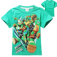 2014 hot sale Teenage Mutant Ninja Turtles tops tees children clothes kid T shirt clothing