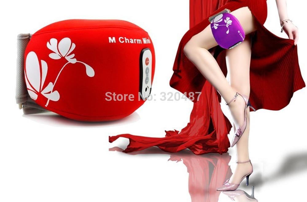 Electric Massage Belt Arm Thigh Calf shank Vibrating Slimming Belt body building 5 kinds of massaging procedures(China (Mainland))