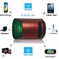 Best NFC Bluetooth Speaker MUSIC Breathing Light Built-in HD Microphone Speakerphone Support Calls Reminders with Gravity sensor