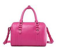 Best quality european genuine leather messenger bag fashion vintage single shoulder bag bucket women handbag