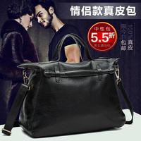 First layer of cowhide shoulder bag casual handbag fashionable general women's genuine leather handbag big bag