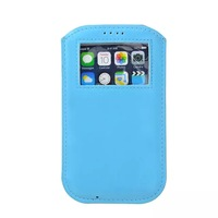 100pcs/lot Sleeve Pouch PU Leather Bags for iPhone6 4.7 inch,Pull Tab Case for iPhone 6,Moblie Phone Bags