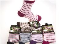 F10932-5/F10936-5 5 Pairs Winter Rabbit Wool Socks Warm Thick Socks For Women Lady