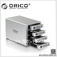 """ORICO 3549UI3 4bay 3.5""""Aluminum External  HDD Enclosure with Firewire interface of Apple Products"""