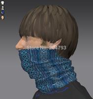 custom winding neck bandana