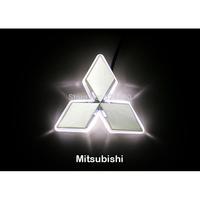 LED Car Tail Logo Auto Badge Light White light for Mitsubishi Galant 2009
