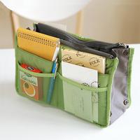 Portable Insert Handbag Organiser Purse Large liner Organizer Bag Amazing Women Travel V3NF