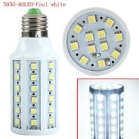 New Design Cool White E27 SMD 5050 60 LED Corn Bulb Light 360 Degree Spot Lamp 220V for faster delivery