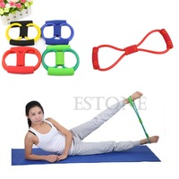 B39 Hot-selling Yoga 8 Type Body Building Workout Exercise Fashion Fitness Equipment Tool free shipping