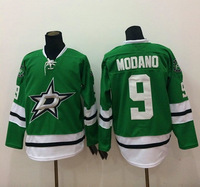 Free Shipping Cheap Discount Authentic Dallas Stars #9 Mike Modano Stitched Ice Hockey Jerseys Wholesale Mixed Order