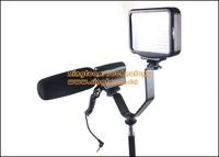 2Pcs/Lot Photo Studio Triple Hot Shoe V Mount Dual Bracket for Video Lights Microphones or Monitors Fit Cameras Nikon Canon etc.
