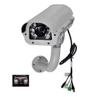 1/3 Sony Hard CCD 600TVL camera 5-50mm Auto Iris Len HSBLC License Plate Recognition LPR CCTV Camera