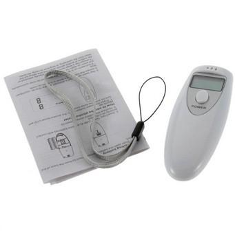 2pcs Breath Tester Analyzer Pocket Digital Alcohol Breathalyzer Detector Test Testing Brand(China (Mainland))