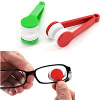 Mini Sun Glasses Brush Microfiber Cleaner 5pcs/set