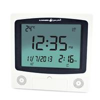 1150 Cities Digital Wall Muslim Azan Clock Pray Reminder with Automatic Fajr Alarm Hijri Calendar / HA-4009