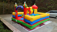 20 Square smaller size Inflatable castles inflatable bouncer inflatable trampoline children air jump toys