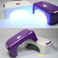 New Arrival 12 W Pro Nail LED UV Lamp Nail Dryer Nail Art Care Machine Tools for UV Gel Nail Polish Curing NC041