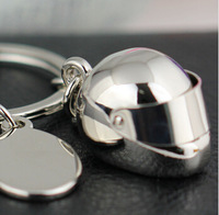 100pcs/Lot Helmet Keychain Fashion Creative Motorcycle Bicycle Casque Key Chain Ring Keyring Keyfob Key Holder