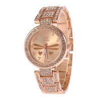 Design Fashion Lady All Steel Diamond Bracelet Watches Quartz Watch Sports Leisure Watches