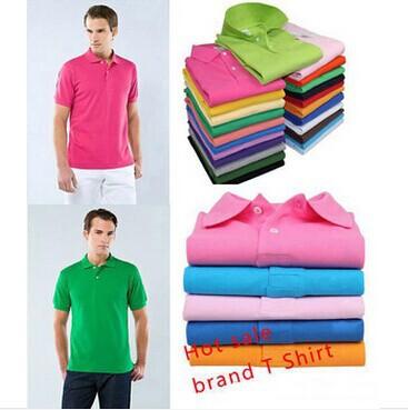HOT SALE High Quality 16 colors rocodile LOGO Shirt Men and women polo shirt Designer Classic Tees(China (Mainland))