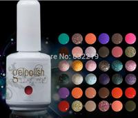 Gel Tear unloading Nail Polish 217 Colors Soak-off UV Led gelishgel Shellac Hot sale Shellac free shipping