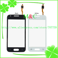 100% test original for  For Samsung Galaxy Ace NXT Duos G313 Touch Screen Digitizer Panel Black white Free Shipping