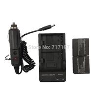 Hot sale!Lowest,4 in 1,2 x 900mAh Li-ion Battery + Dual-Slot Battery Charging Dock + Car Charger for SJ4000 / SJ4000 WIFI