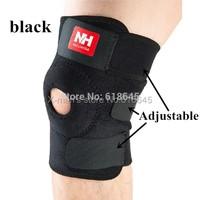 High quality fashion football basketball volleyball black durable knee shin protector guard pad pads kneepad
