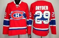 Cheap Man's Montreal Canadiens Vintage Hockey Jerseys #29 Ken Dryden Jersey CCM Home Red Throwback Ken Dryden Stitched Jerseys