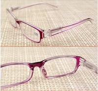 Free Shipping High Quality Presbyopic Glasses Plastic Optical Eyewear Women Reading Glasses Black Purple +2.00 BF8895