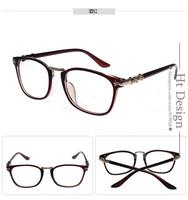 Unisex Classic New Brand Designer Cat Eye Glasses Retro Fashion Black Women Optical Glasses Frame Clear Lens Vintage Eyewear
