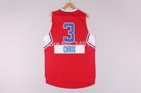 Free Shipping,2014 - 2015 Christmas Edition basketball jersey #3 Chris Paul Christmas basketball jersey