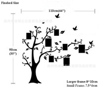 2014 Hot Selling 3D  wall stickers photo tree for the sofa sitting room the bedroom  DIY  Fashion wall stickers home decoration