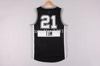 Free Shipping,2014 - 2015 Christmas Edition basketball jersey #21 Tim Duncan Christmas basketball jersey